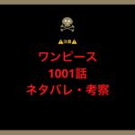 ワンピース1001話